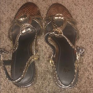 H&M party shoes... perfect for New Year's Eve!